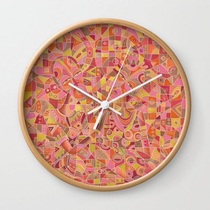dialogue 5 marriage painting clock