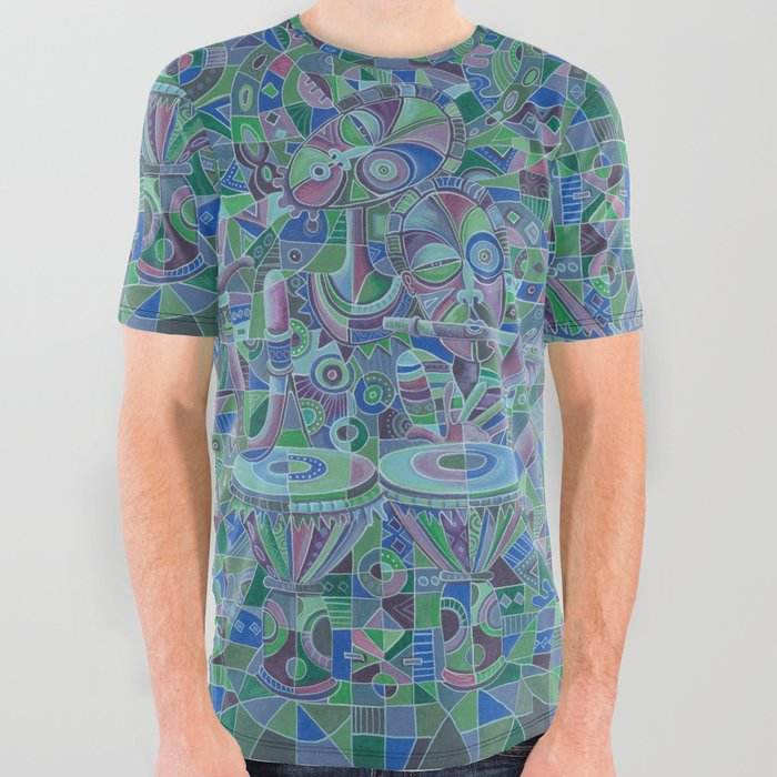 Drummer and Flutist 5 t-shirt