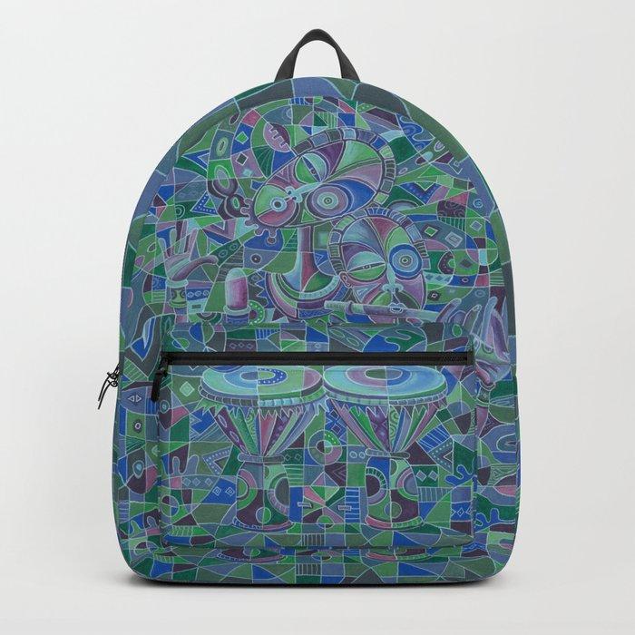 Drummer and Flutist 5 backpack