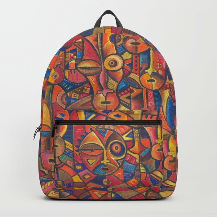 Faces 6 backpack