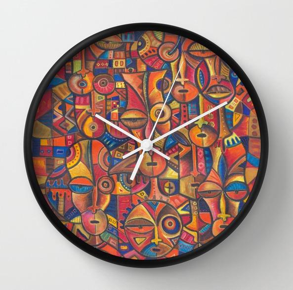 Faces 6 clock