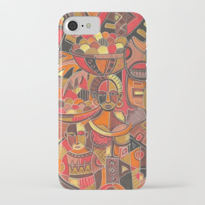 Fruit Sellers iPhone case