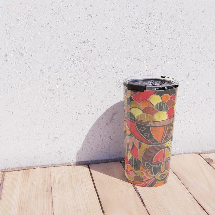 Fruit Sellers travel mug
