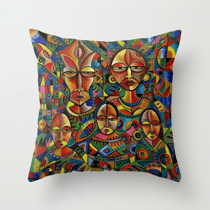 Happy Family 8 pillow