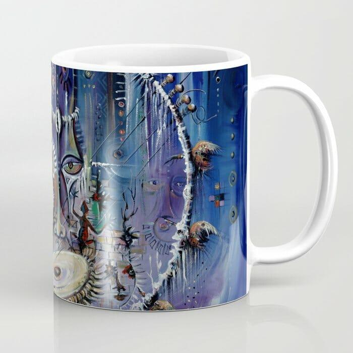 Kora Player 3 coffee mug