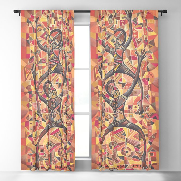 Last Dance curtains