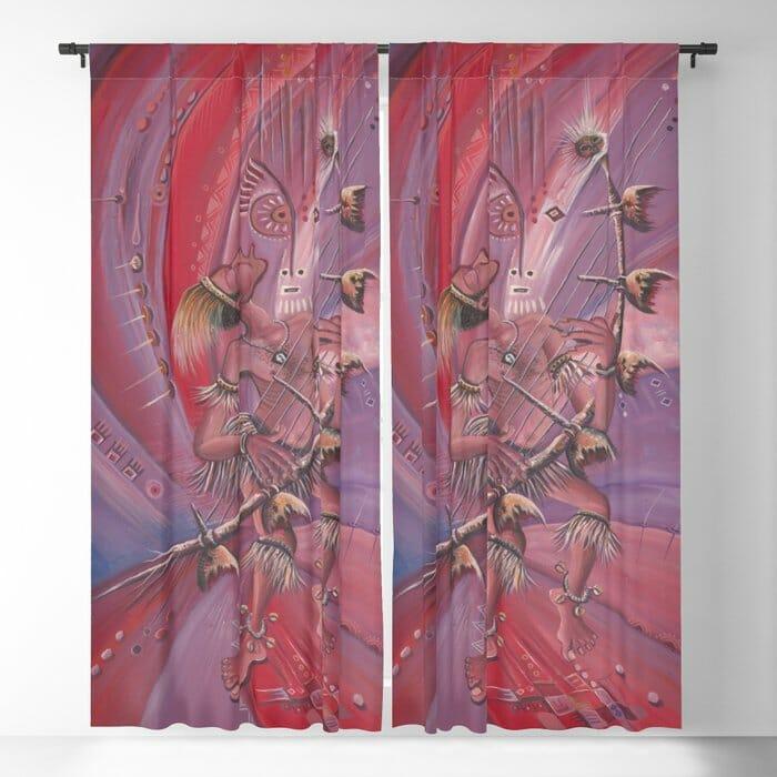 Midnight Storyteller curtains