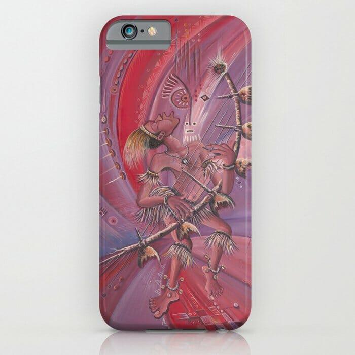 Midnight Storyteller iPhone case