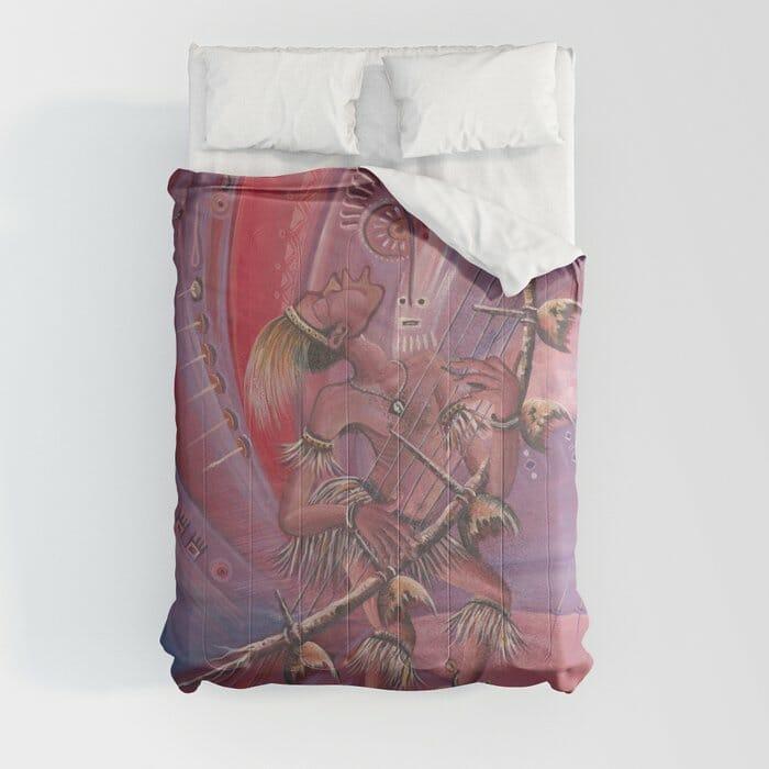 Midnight Storyteller comforter