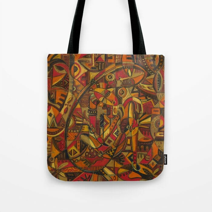 Mother and Child 7 tote bag