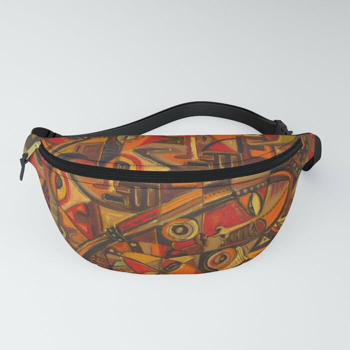 Mother and Child 7 fanny pack