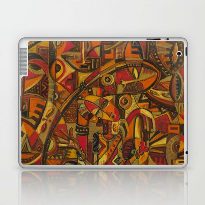 Mother and Child 7 laptop and iPad skin
