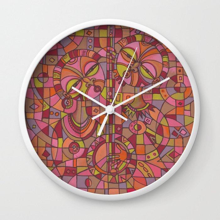 Music is Love 5 Wall clock