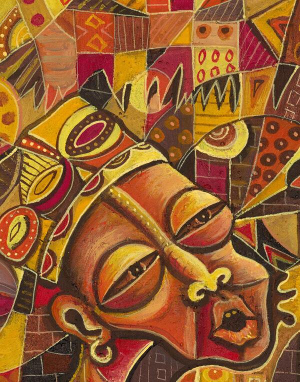 Mvet Player 2 African musician close
