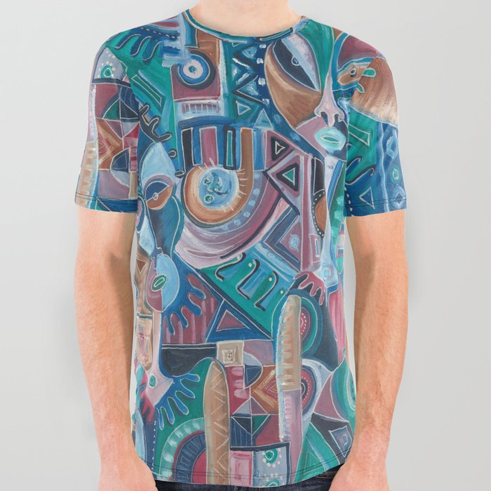 My Friend all 0ver graphic t-shirt