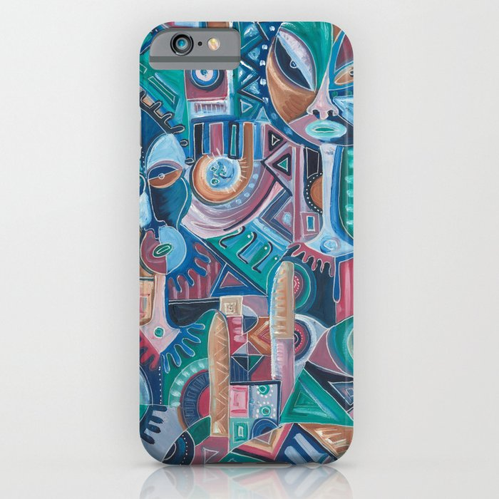 My Friend surreal painting on iPhone case