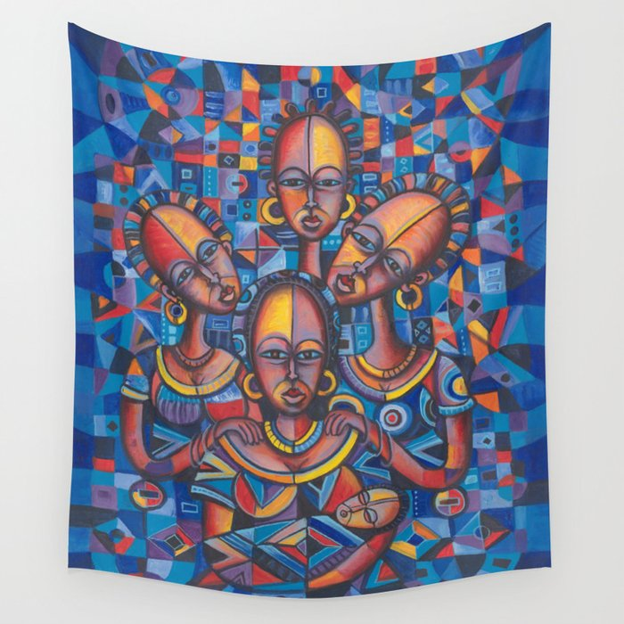 New Born 2 Wall Tapestry