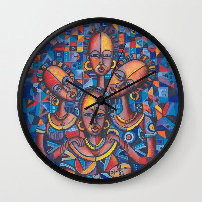 New Born 2 Wall Clock