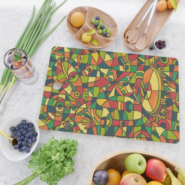 Play the Drum 4 Cutting board