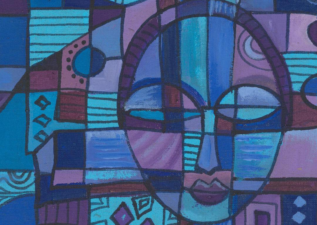 Prayer 4 African Christian art close