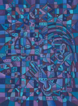 Prayer 4 African Christian art