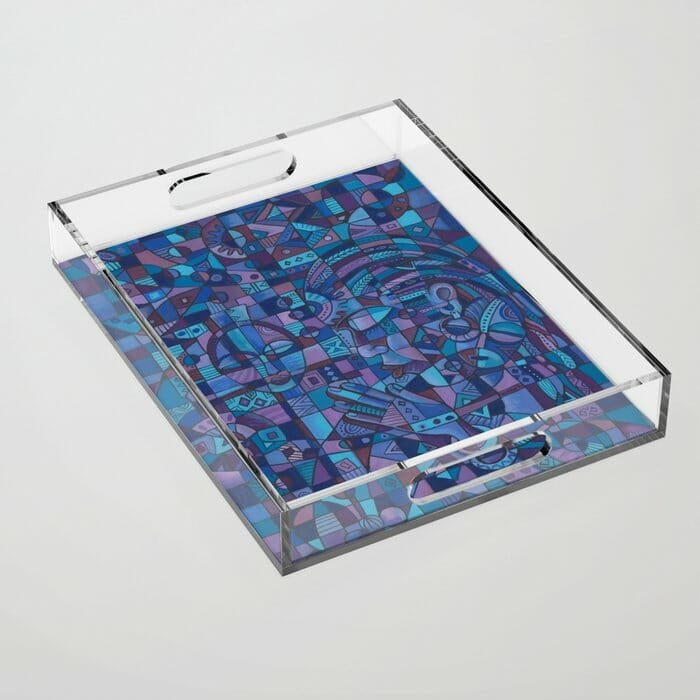 Prayer 4 acrylic tray