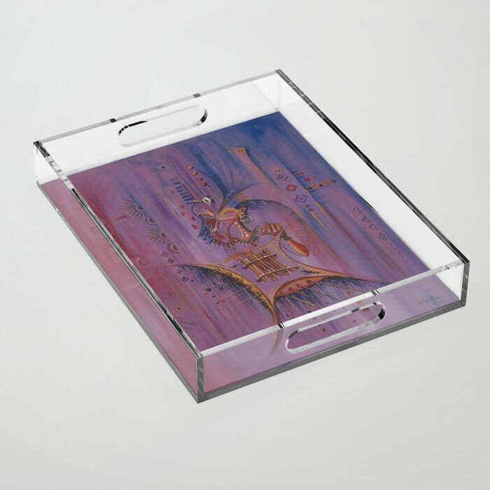 Sanza Player acrylic tray