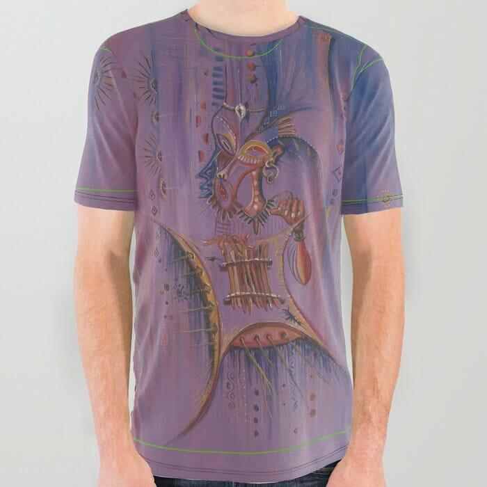 Sanza Player t-shirt
