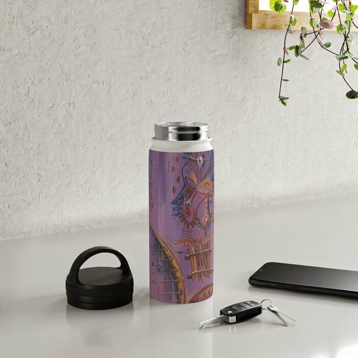 Sanza Player water bottle