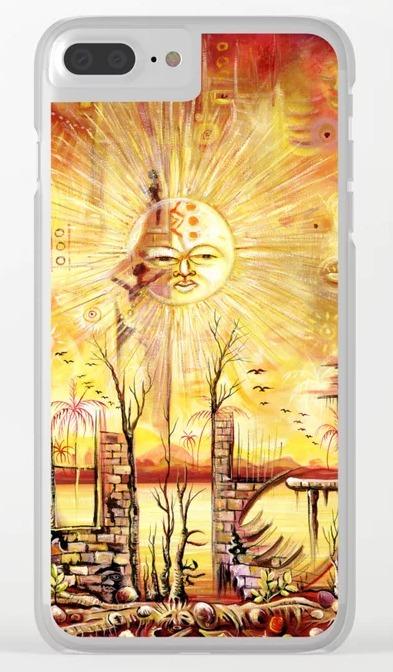 Sun Shine in my Mind iPhone case
