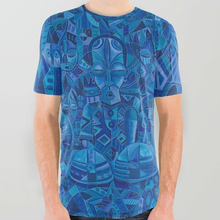 The Blues Band 2 all over t-shirt