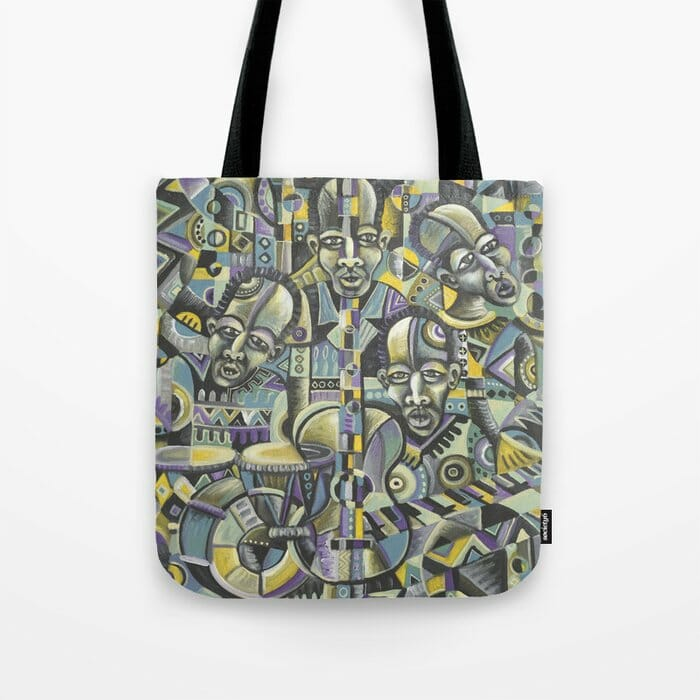 The Blues Band tote bag