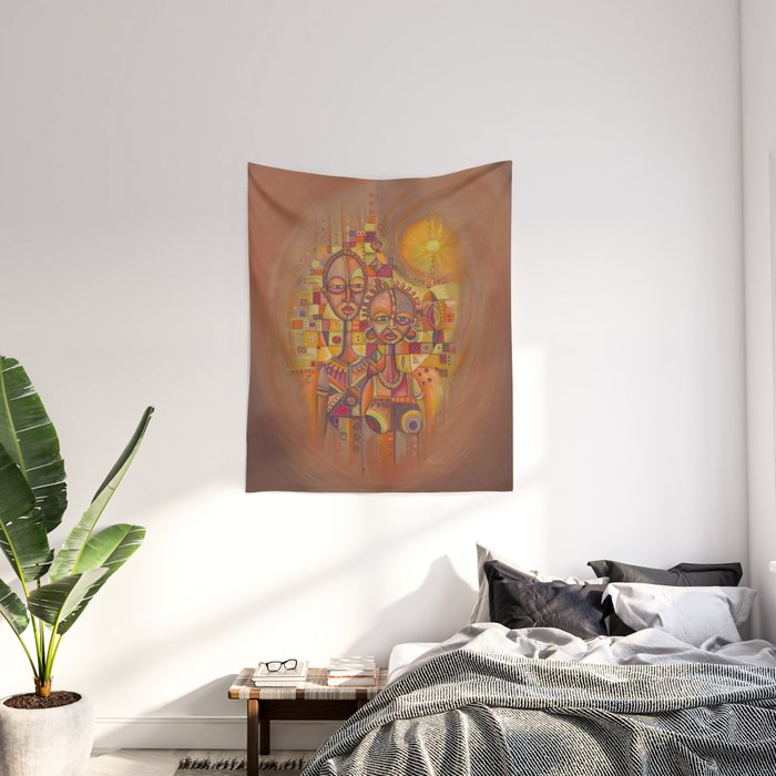 The Couple Tapestry