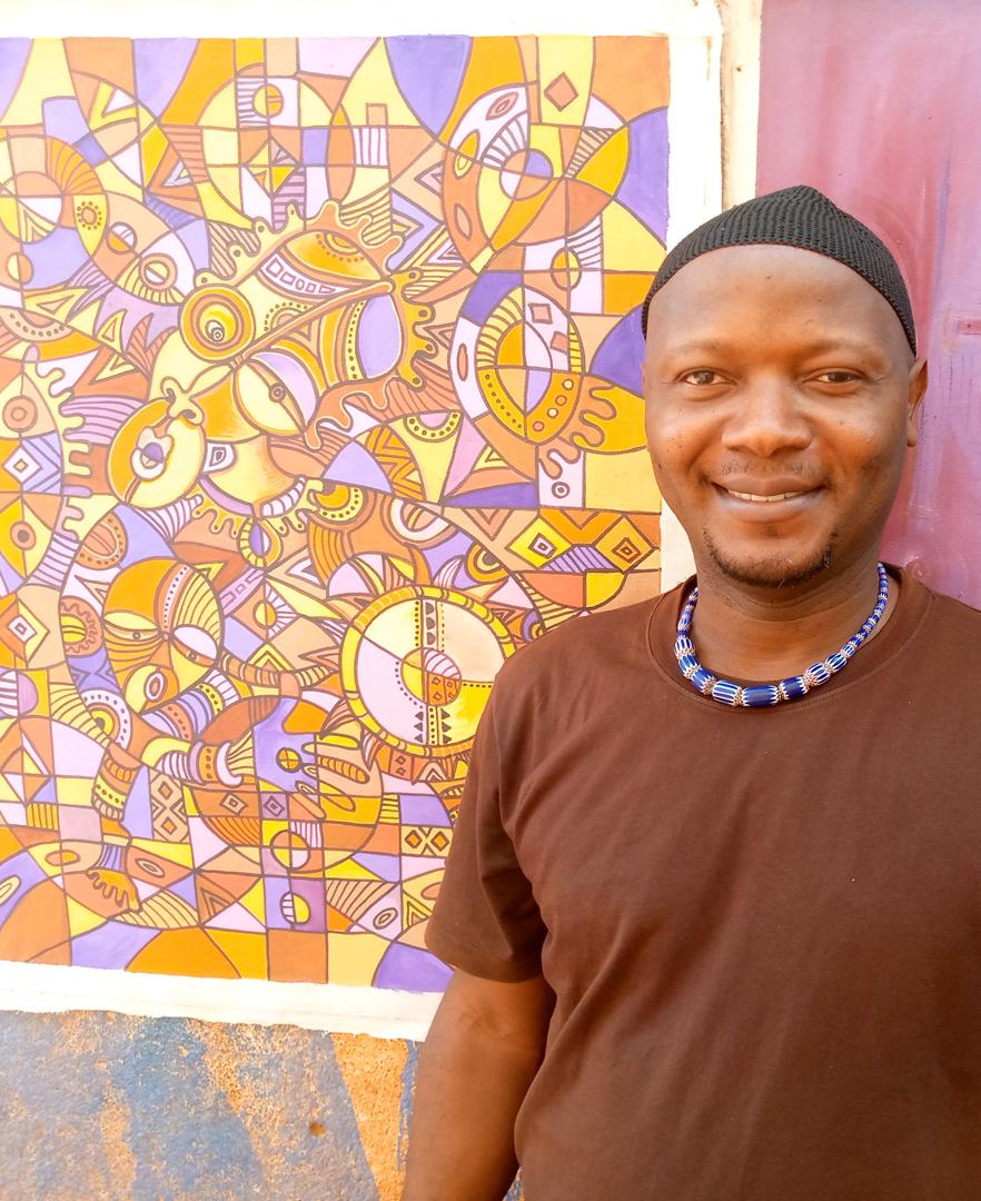 African artist Angu Walters