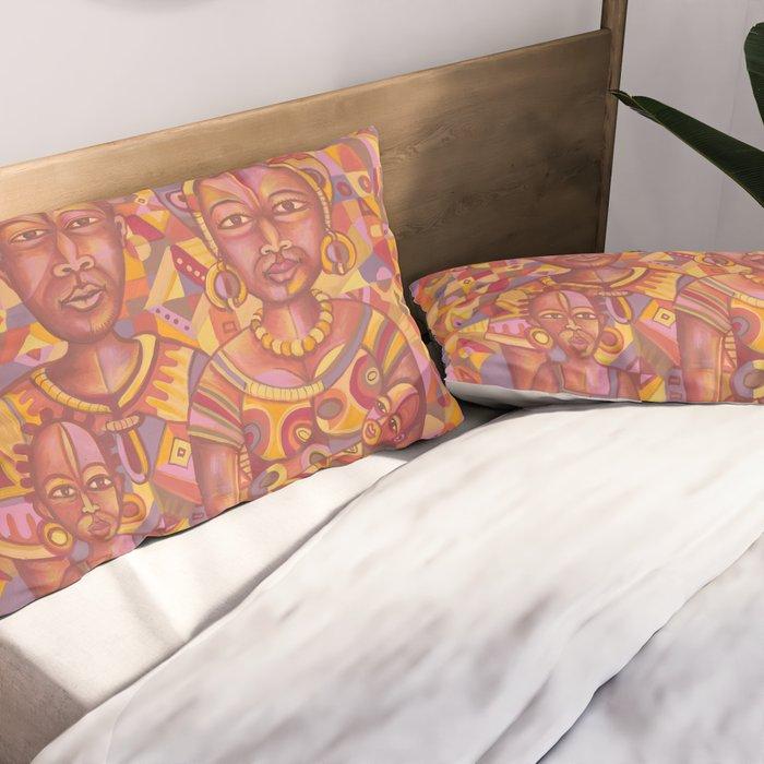 The Happy Family 21 Pillow sham