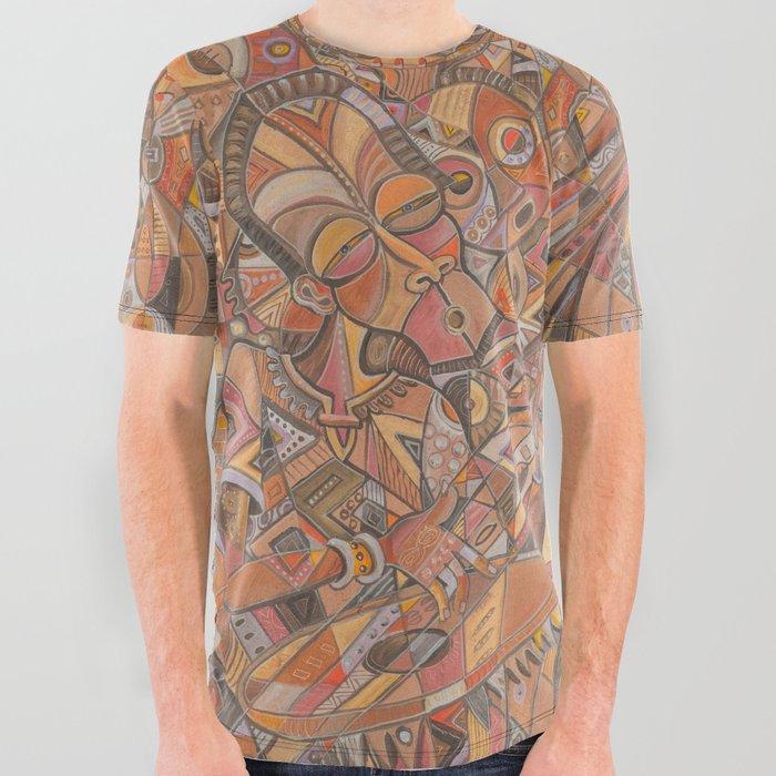 Kora Player I all over graphic tshirt