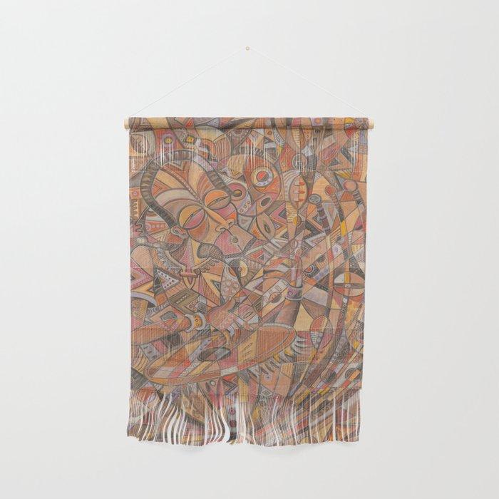 Kora Player I tapestry
