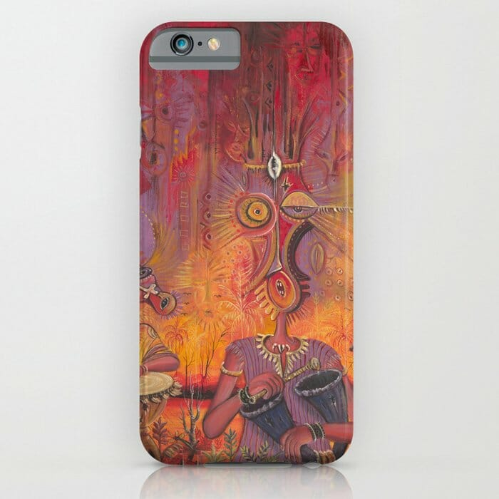 The Town Cryer iPhone case