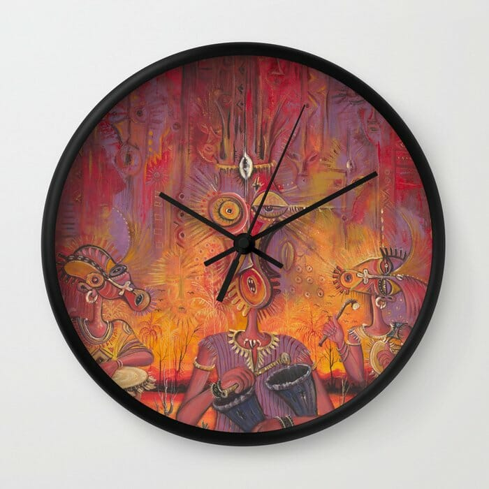 The Town Cryer clock