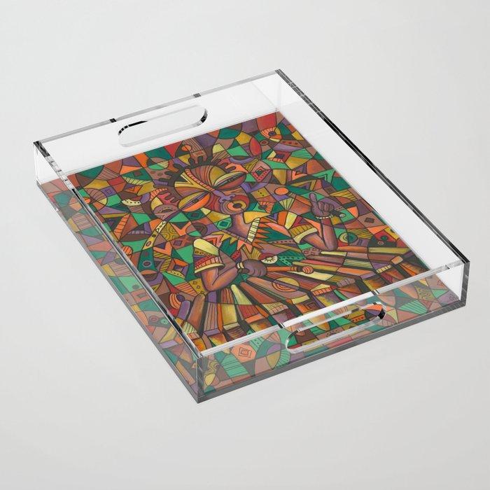 Xylophone Player 4 acrylic tray
