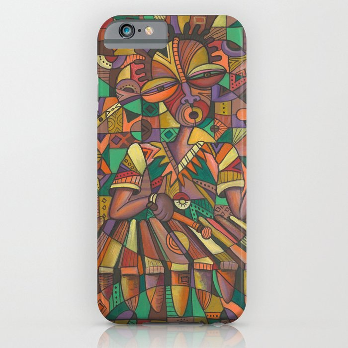 Xylophone Player 4 iPhone case