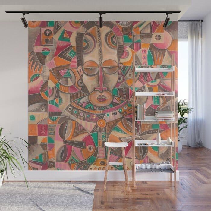 Twin wall mural