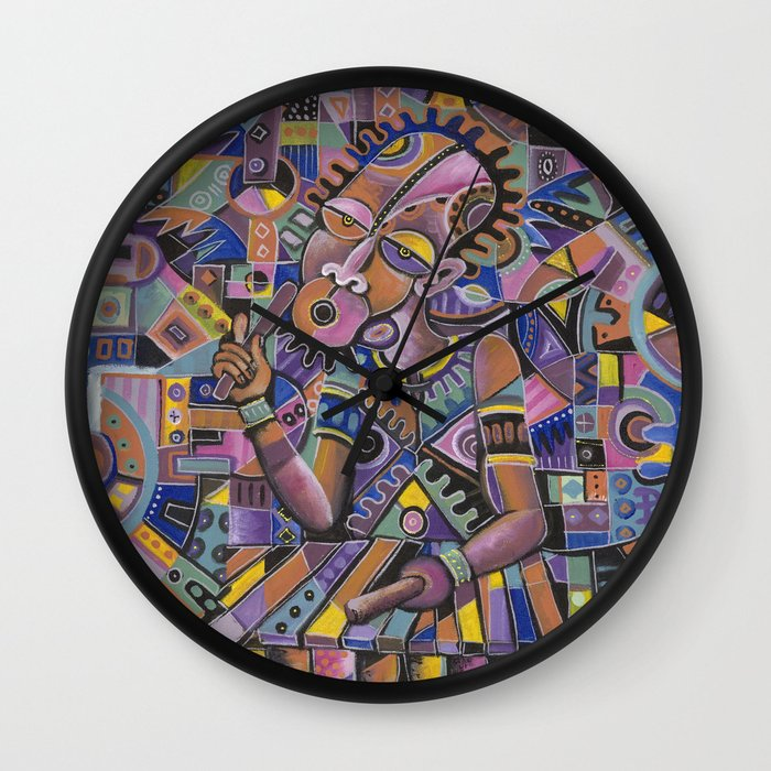 The Xylophone Player 2 clock