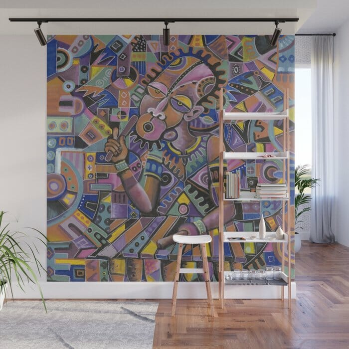 The Xylophone Player 2 wall mural
